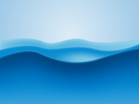 blue abstract water background