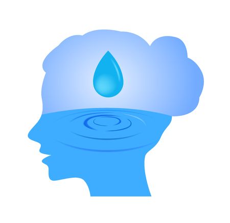 moisturizer in women face icon vector