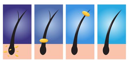 hair conditioner vector