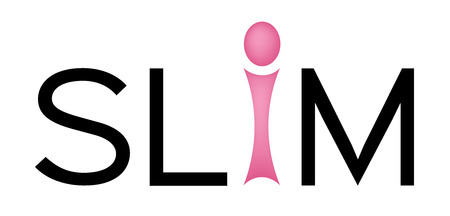 Slim and slim fast icon