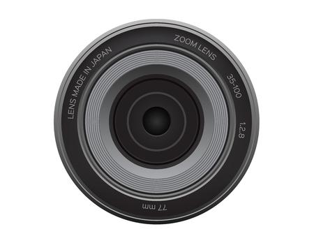 Camera lens icon.