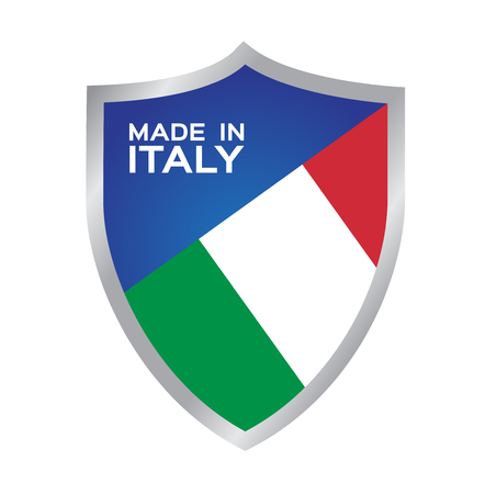 made in Italy icon and vector Illustration