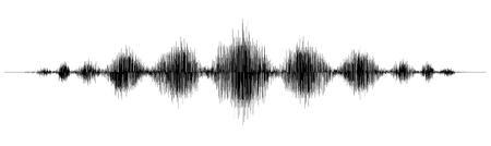 Earthquake wave diagram. Seismogram of different seismic activity record vector illustration. Illustration