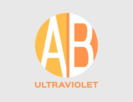 uv skin and ultraviolet icon