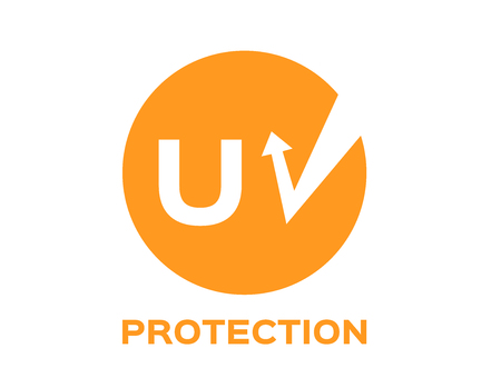uv protection logo and icon , vector