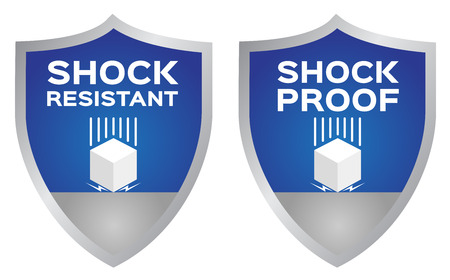 shock resistance icon . vector