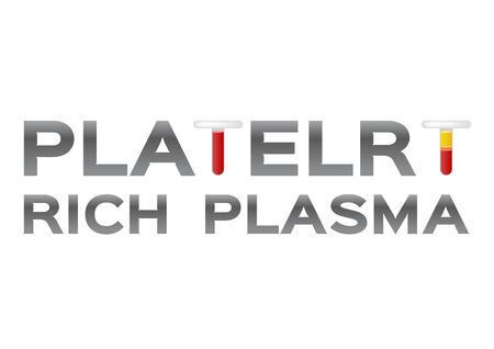 font and headline of Platelet-Rich plasma procedure stages