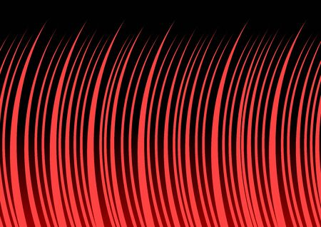 Comic and manga books speed lines background. spiral, explosion background. vector