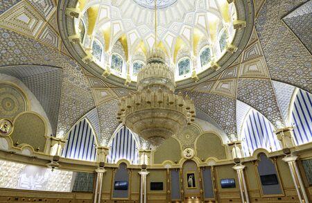 Abu Dhabi , United Arab Emirates , November , 04 , 2019. Presidential Palace, Palace of Qasr al-Watan  the Palace of the nation inside palace