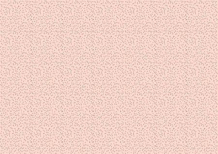 skin and mustache or whisker before shaving vector on white background