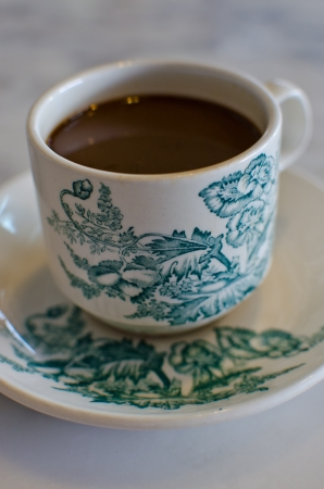 Antique Coffee Cup  photo