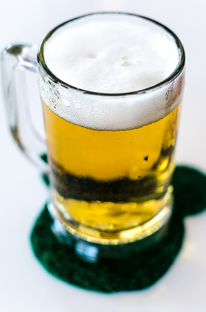 Beer in a glass  photo