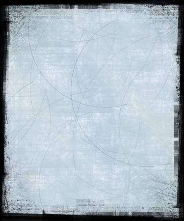 vintage photo: Scratched background with grunge frame Stock Photo