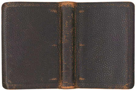 leather texture: Antique Three Ring Binder Cover