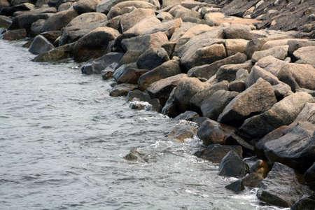 massachussets: Rocks on a Cape Cod Sea Shore