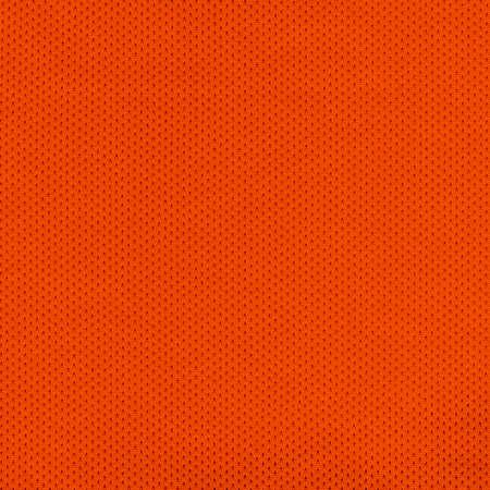 breathable: Orange Sport Jersey Mesh Tessile Archivio Fotografico