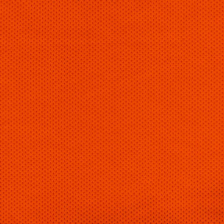 Orange Sport Jersey Mesh Textile