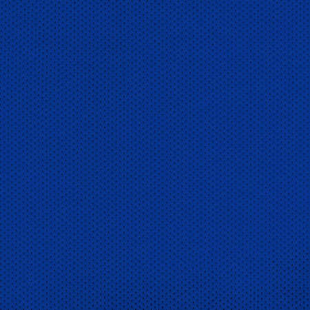islanders: Blue Sport Jersey Mesh Textile Stock Photo