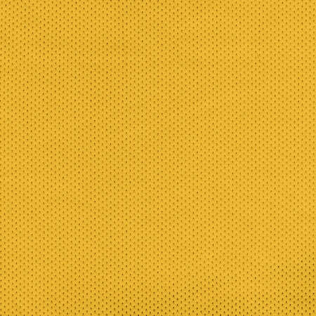 Yellow Sport Jersey Mesh Textile