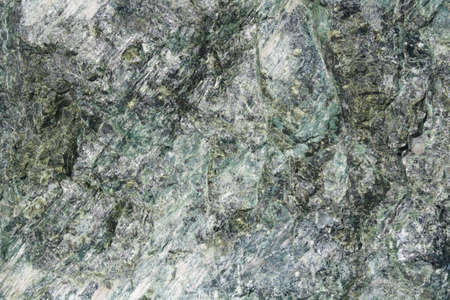 Closeup on a Natural Green Rock Texture