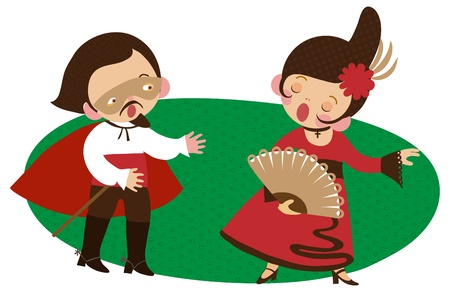 period costume: Opera