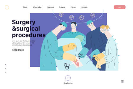 Medical reports application -medical insurance web page template -modern flat vector concept digital illustration -patient and doctor using medical application with reports and test results, metaphor