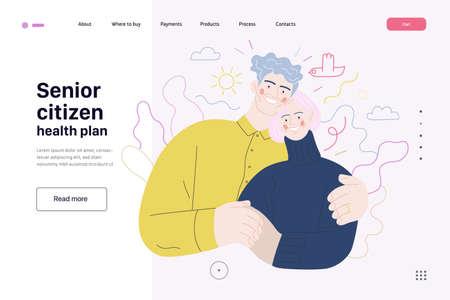 Medical insurance template,senior citizen health plan