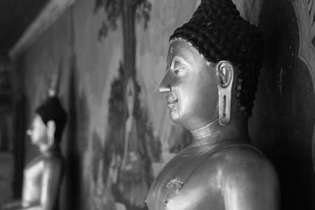 Buddha Images in Black and White Stock Photo - 15121601