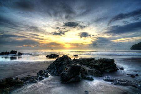 bali beach: grajagan bay view