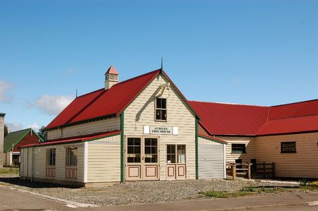 arhitecture: Jubilee fire-house, Masterton, New Zealand-early 20th century fire station