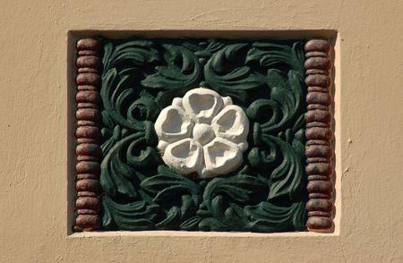 english rose: English rose motif