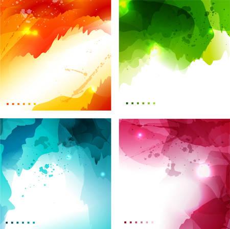 luminosity: Vector illustration of abstract luminosity backgrounds. Illustration
