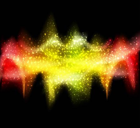 oscillation: Vector illustration of abstract wavy background.