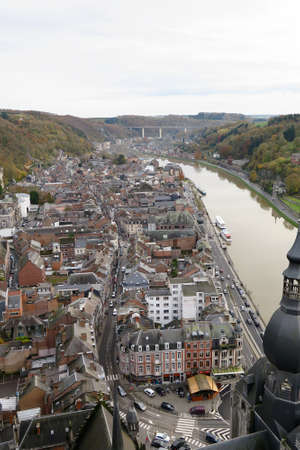 citadel: Dinant overview from above the citadel