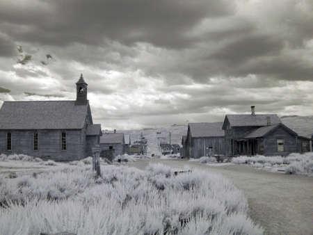 ghost town                               免版税图像