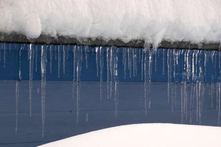 icicles 免版税图像