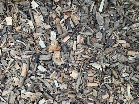 texture of wood chips on the floor