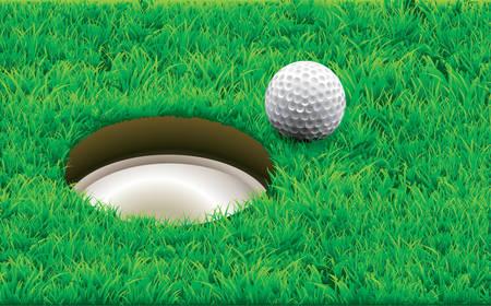 Vector. Golf, destiny.