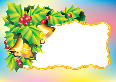 Vector. Christmas postcard Stock Vector - 2615646