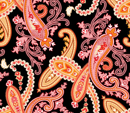 Seamless paisley pattern Stock Vector - 3359074