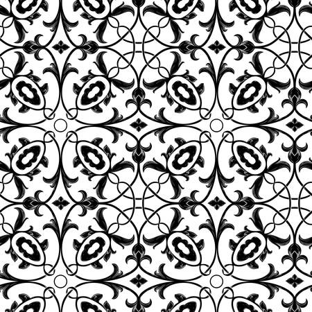 Vector. Seamless floral background Vector