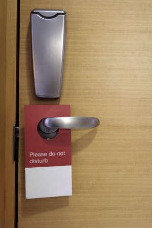 Do not disturb photo