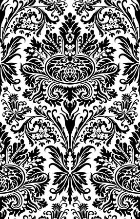 Vector. Seamless damask pattern Stock Vector - 3552678