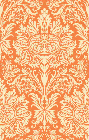 Vector. Seamless damask pattern Stock Vector - 3607765