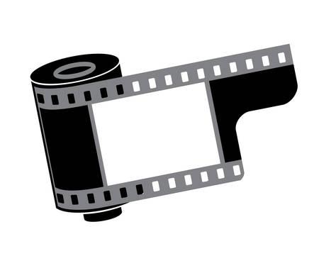 vector. film reel Vector
