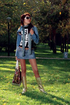nylon: Beauty in park