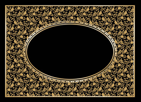 Vector. Decorative frame Vector