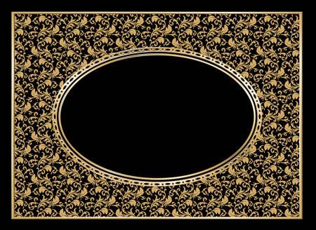 christmas photo frame: Vector. Decorative frame