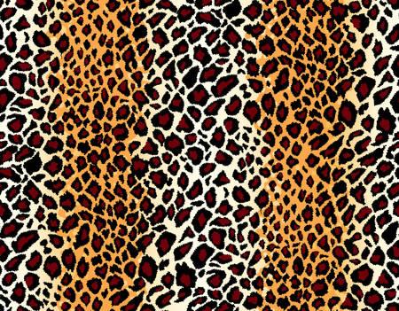 Vector. Seamless motif léopard Banque d'images - 4060715