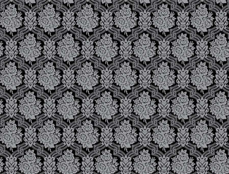 Seamless damask pattern with rose bouquets. XXL size Stock Photo - 4375958